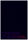 Creatures of Darkness poster